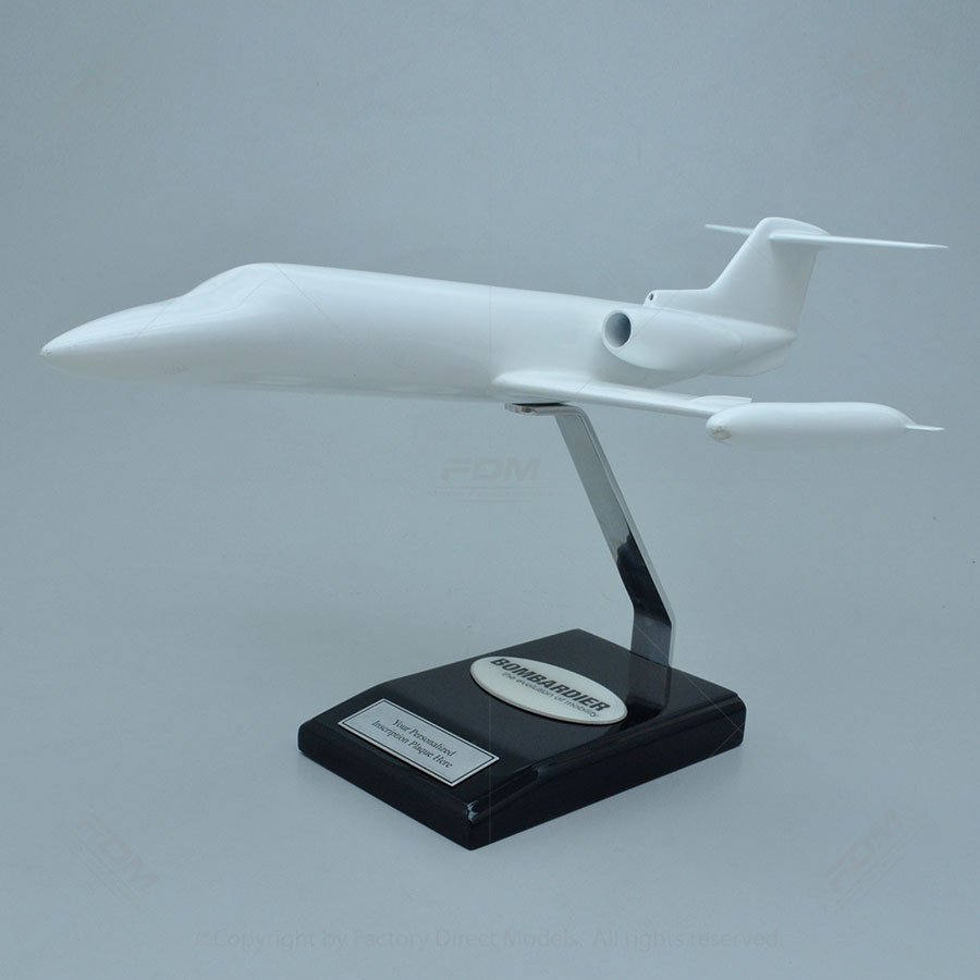 Your Custom Painted Bombardier Learjet 25D Model