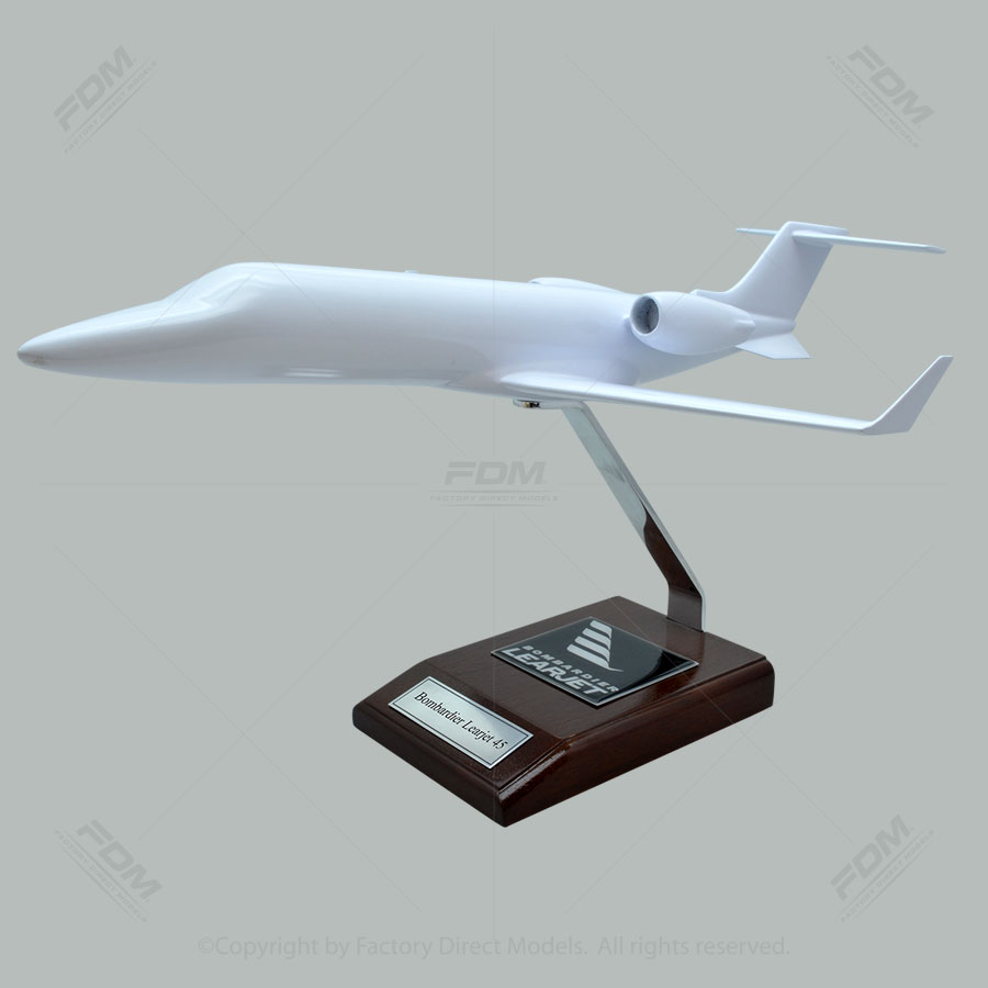 Your Custom Painted Bombardier Learjet 45 Scale Model