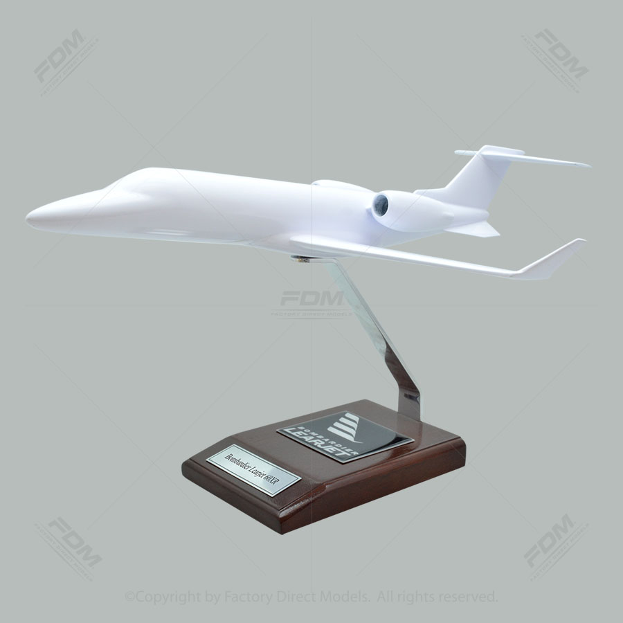 Your Custom Painted Bombardier Learjet 60XR Scale Model