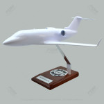 Your Custom Painted Bomabardier Challenger 604 Scale Model Airplane