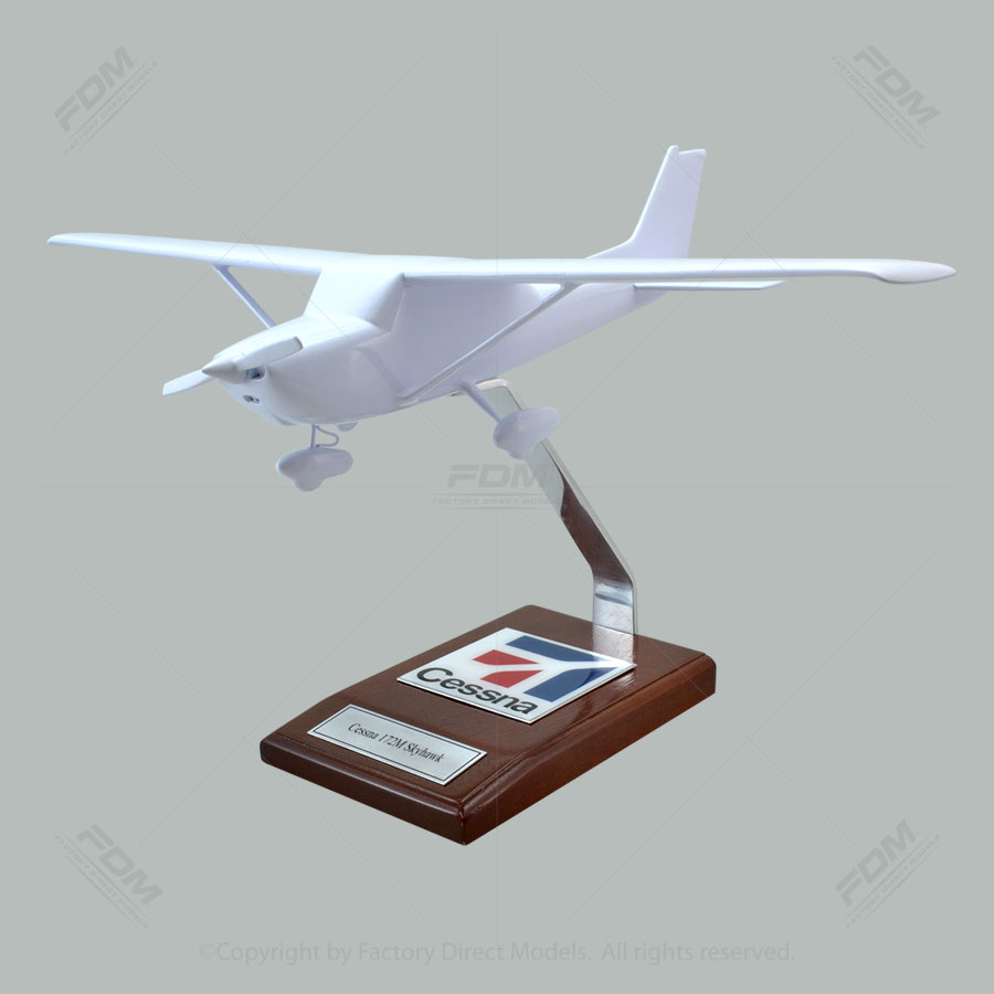 Your Custom Painted Cessna 172M Skyhawk Scale Model Airplane