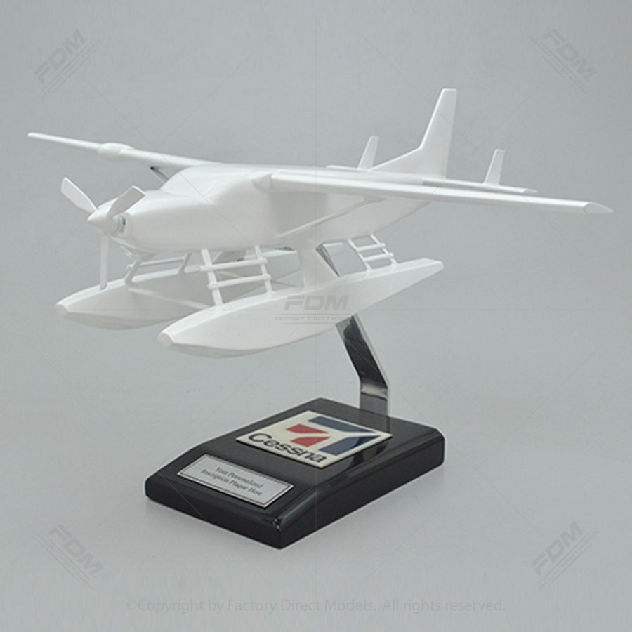 Your Custom Painted Cessna 208B Grand Caravan EX Amphibian Scale Model Airplane