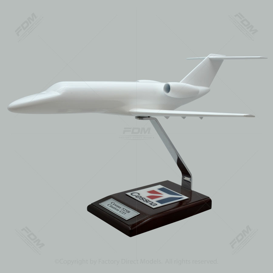 Your Custom Painted Cessna 525B Citation CJ3 Model Airplane
