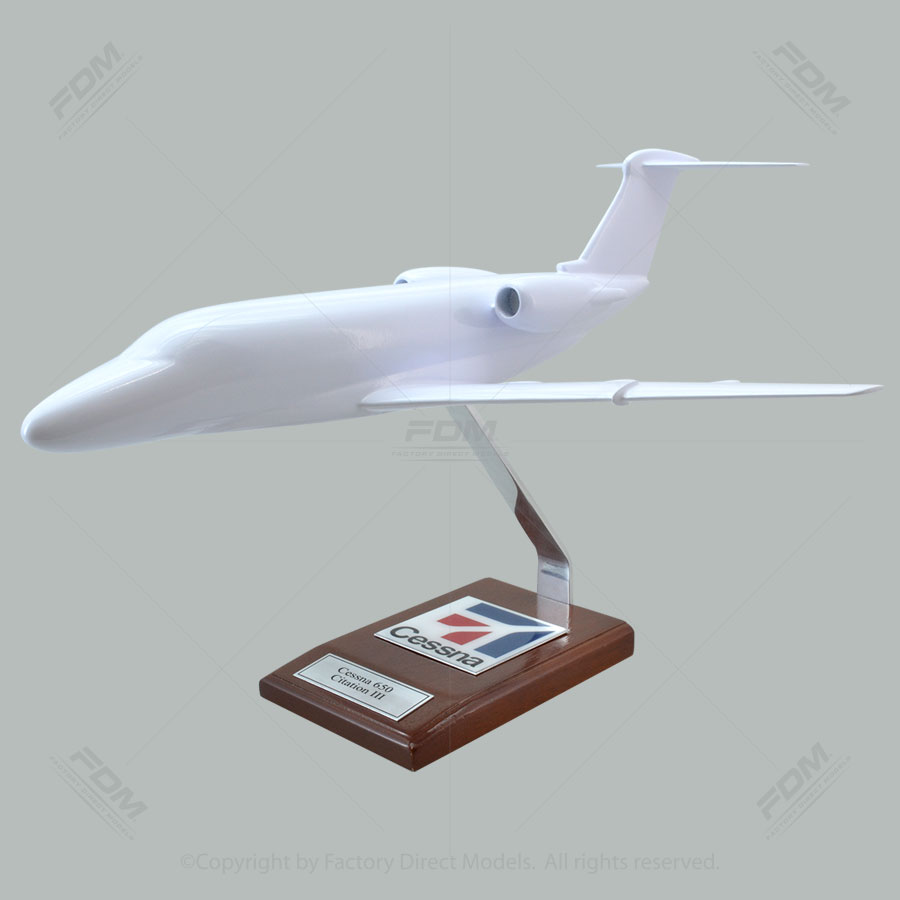 Your Custom Painted Cessna 650 Citation III Scale Model Airplane