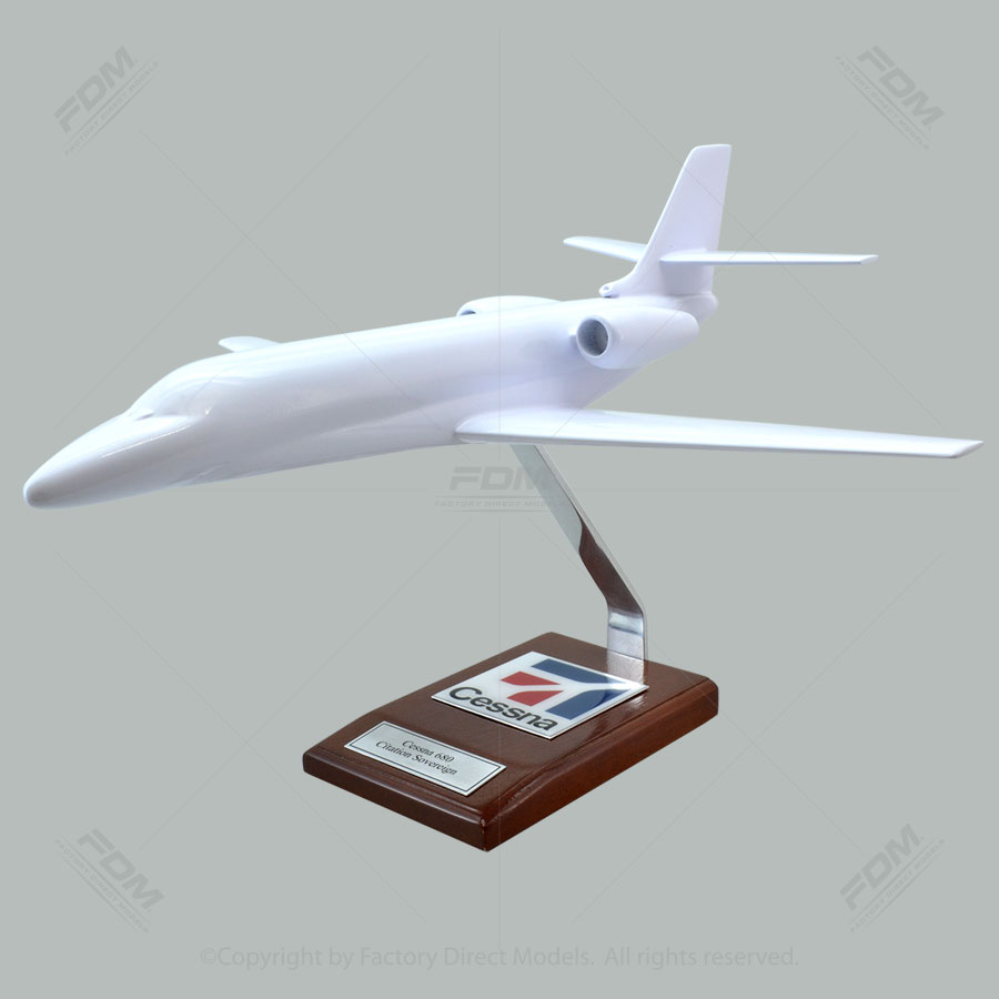 Your Custom Painted Cessna 680 Citation Legacy Sovereign Scale Model Airplane