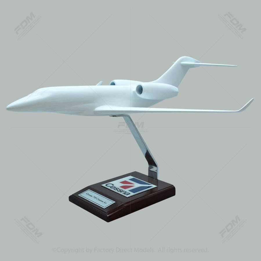 Your Custom Painted Cessna 750 Citation X+ Scale Model