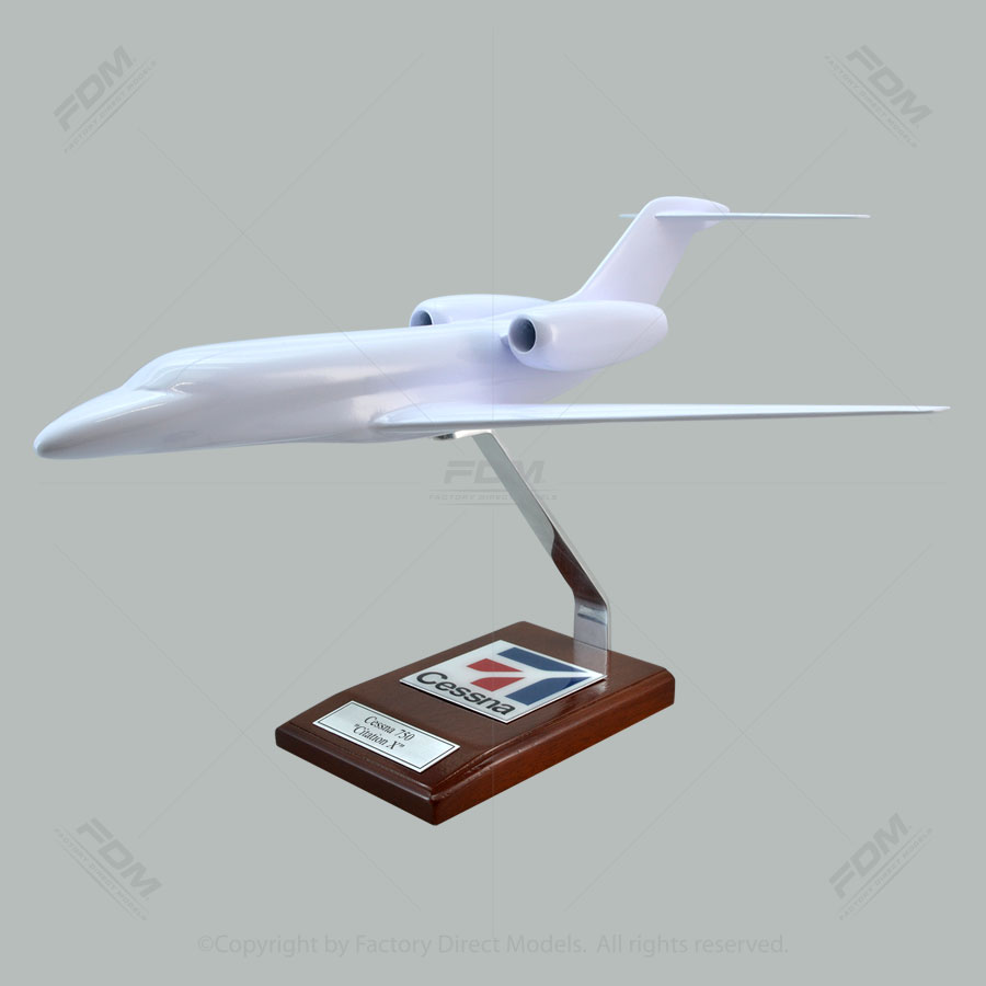 Your Custom Painted Cessna 750 Citation X Scale Model Airplane