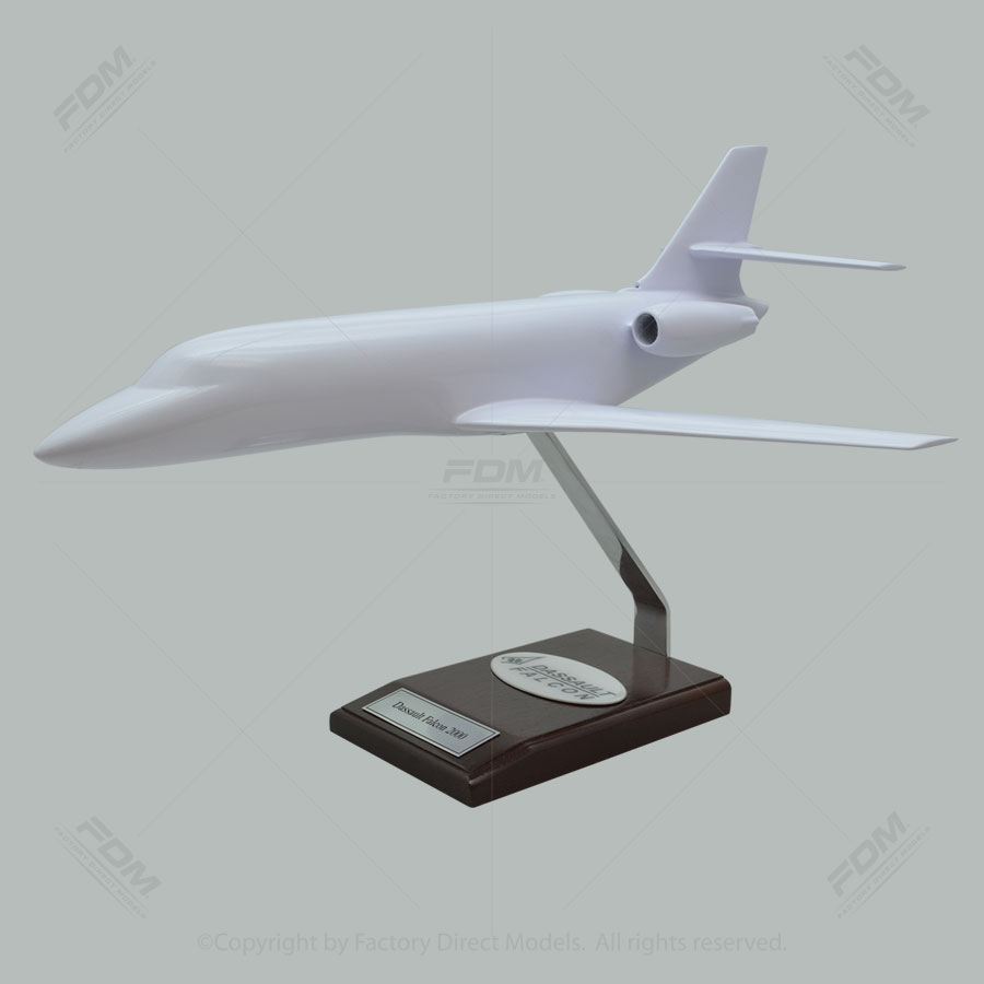 Your Custom Painted Dassault Falcon 2000 Scale Model
