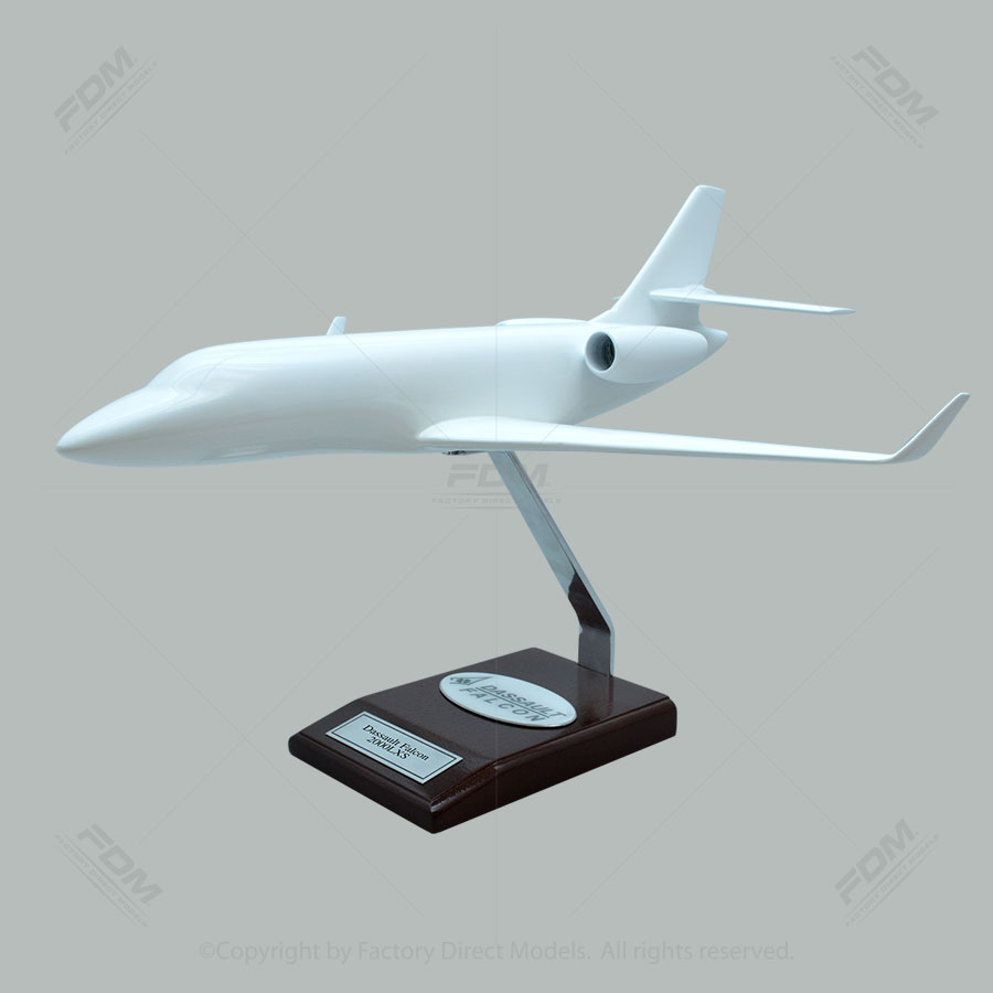 Your Custom Painted Dassault Falcon 2000LXS Scale Model