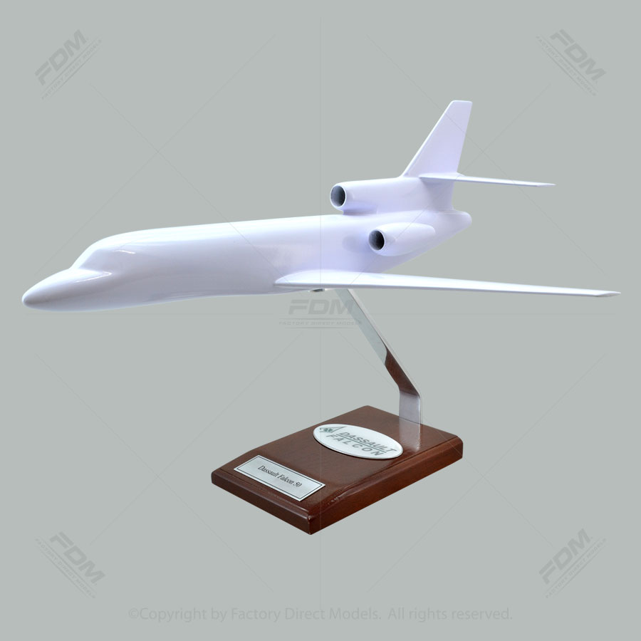 Your Custom Painted Dassault Falcon 50 Scale Model Airplane