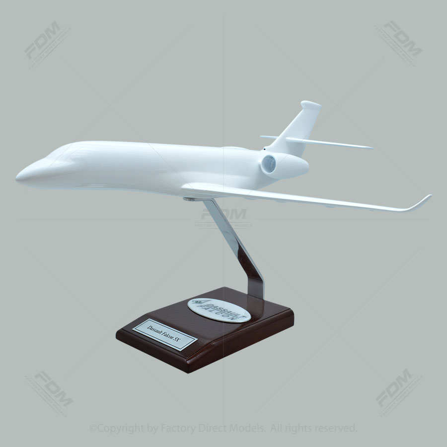 Your Custom Painted Dassault Falcon 5X Scale Model