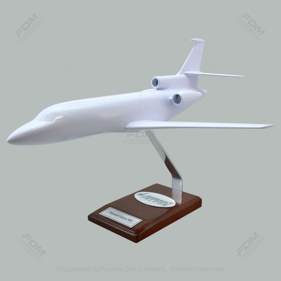 Your Custom Painted Dassault Falcon 900 Scale Model Airplane