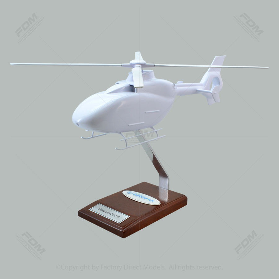 Your Custom Painted Eurocopter EC-135 Scale Model Helicopter