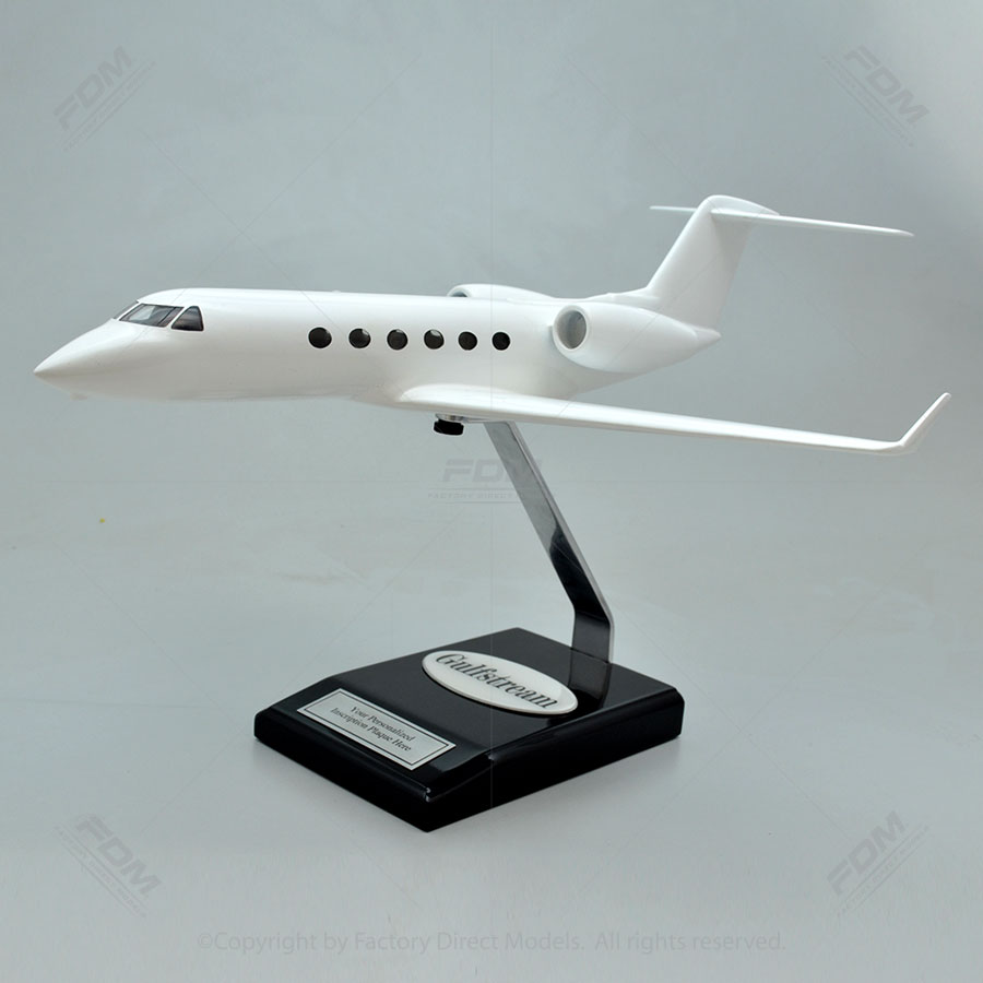 Your Custom Painted Gulfstream G450 Model with Detailed Interior