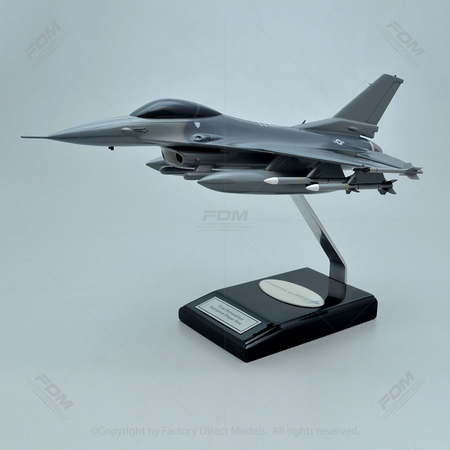 Your Custom Painted Lockheed Martin F-16C Fighting Falcon Scale Model Military Aircraft