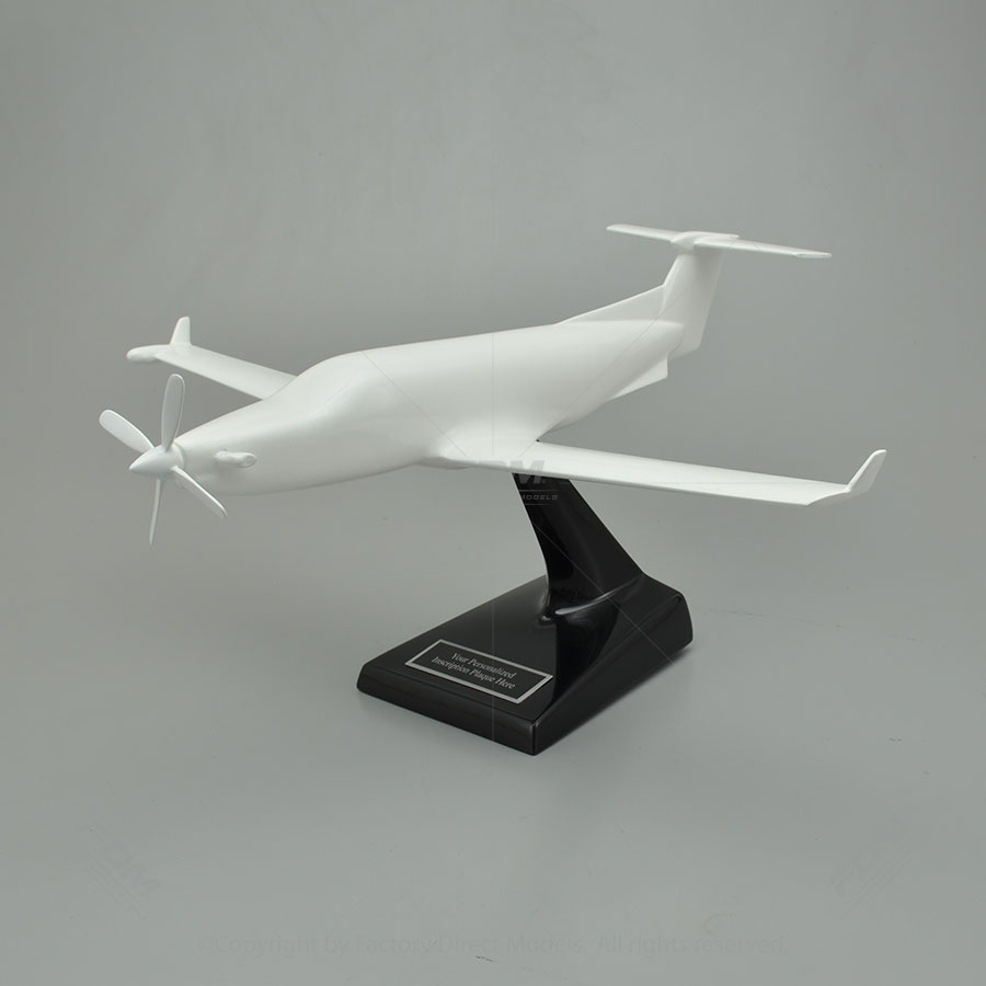Your Custom Painted Pilatus PC-12/45 Scale Model