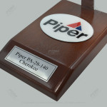 Your Custom Painted Piper PA-28-140 Cherokee Scale Model