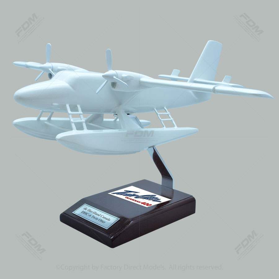 Your Custom Painted de Havilland Canada DHC-6 Twin Otter on Floats Scale Model