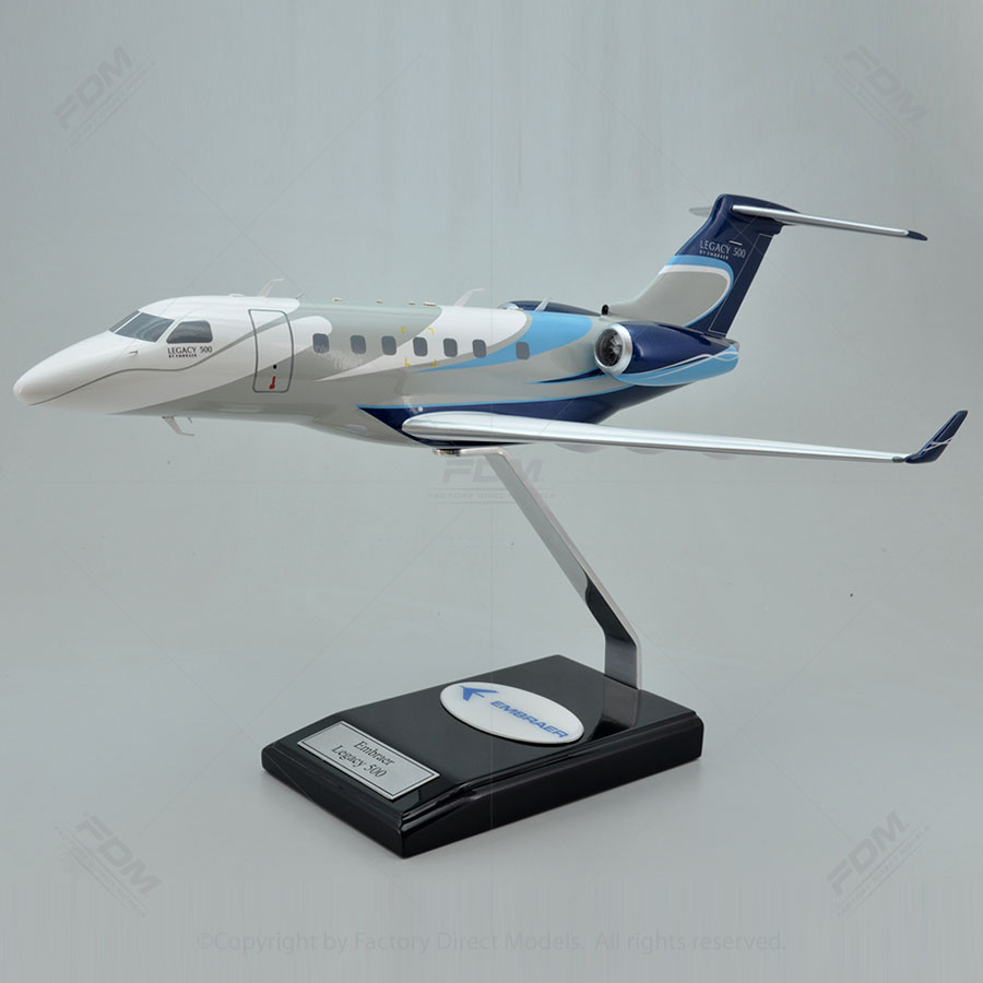 Embraer Legacy 500 Scale Model