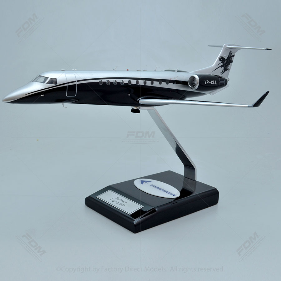 Embraer Legacy 600 Model with Detailed Interior