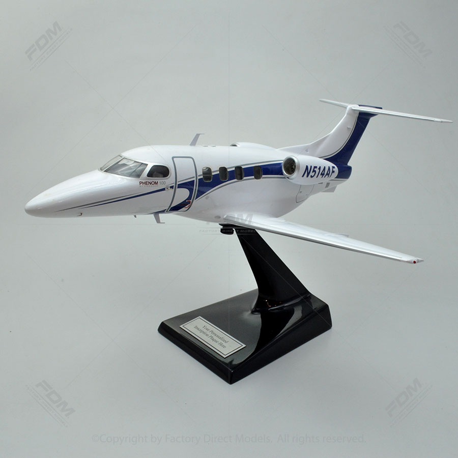 Embraer Phenom 100 Model with Detailed Interior