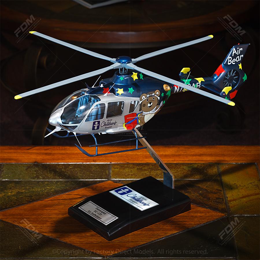 """17"""" Custom Desktop Helicopter Model"""