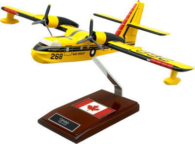 Canadair CL-215 Scooper Airplane Model