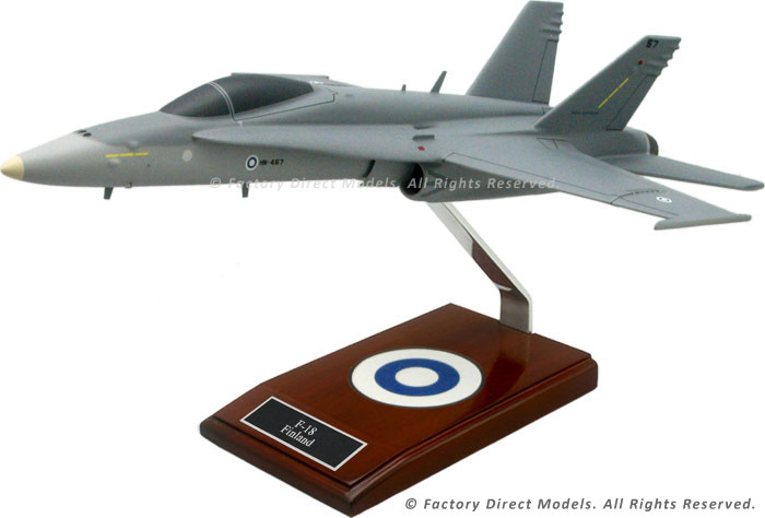 McDonnell Douglas F-18 Finland Model