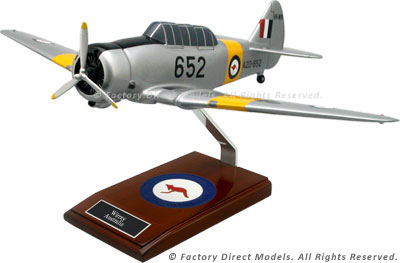 CAC Wirraway Scale Model