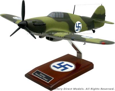 Hawker Hurricane Mk I Finland (HU460) Scale Model