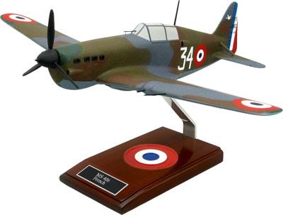 Morane-Saulnier M.S.406 Scale Model