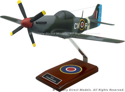 North American P-51 Commonwealth Scale Model