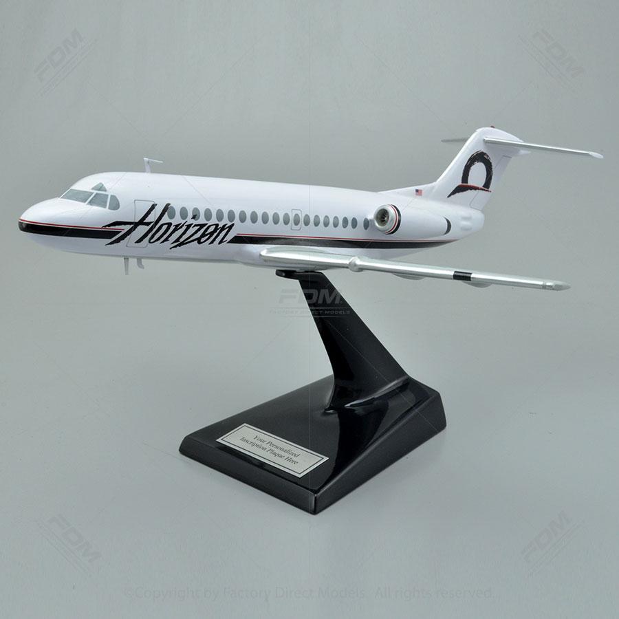 Fokker F28 Fellowship Horizon Model
