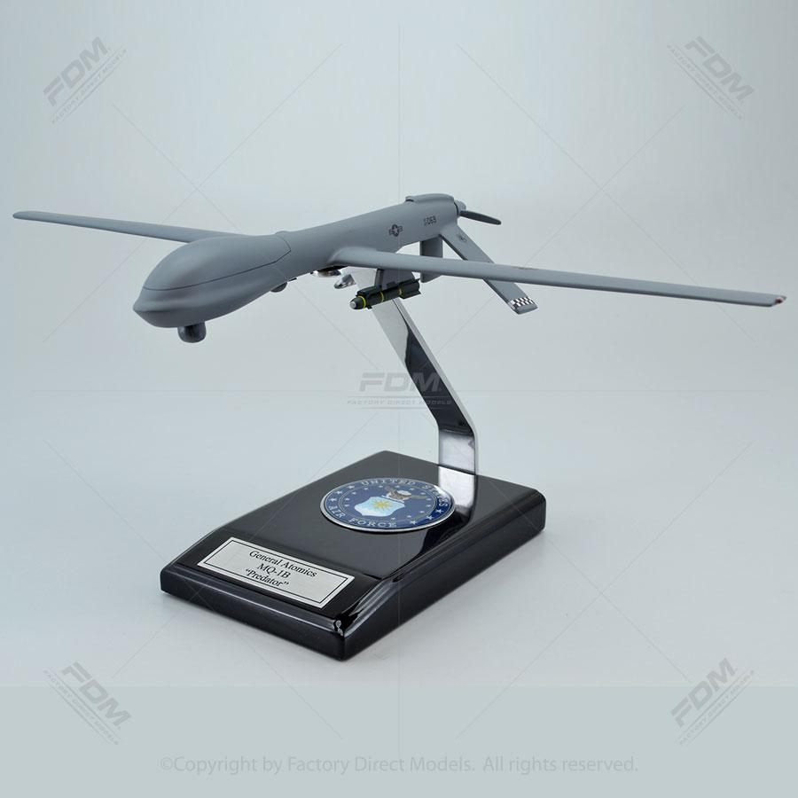 General Atomics MQ-1B USAF Predator UAV Model