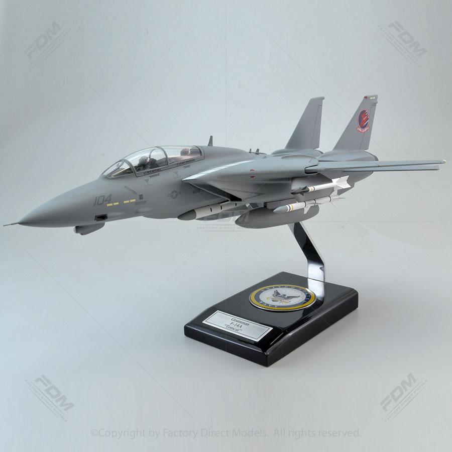 Grumman F-14A From the Movie Top Gun Scale Model Aircraft