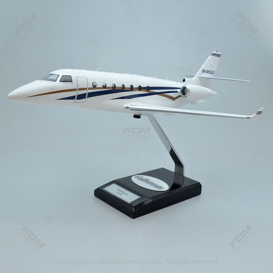 Gulfstream G200 Model with Detailed Interior