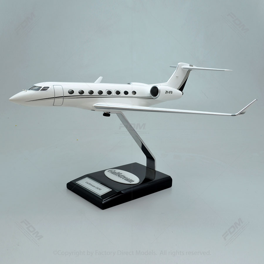 Gulfstream G650 Model with Detailed Interior