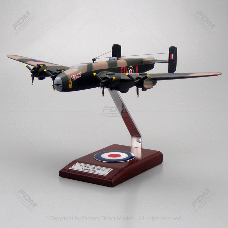 Handley Page Halifax Bomber Canadian Model