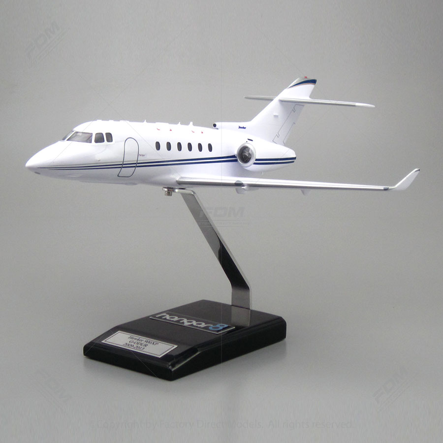 Hawker 900XP Model with Detailed Interior