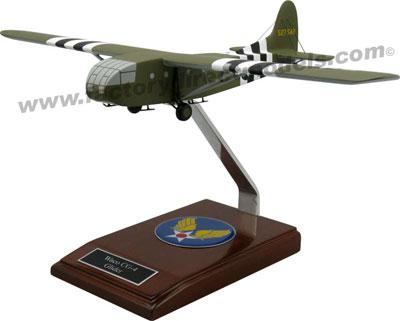 Waco CG-4 Glider Wooden Model Airplane