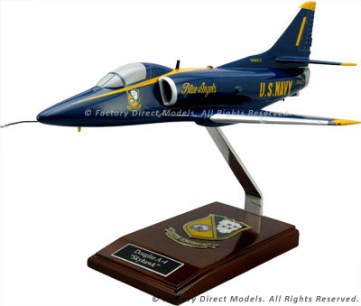 Douglas A-4F Skyhawk Blue Angels Model