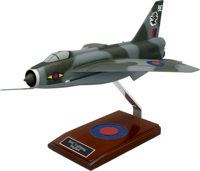 BAC Lightning Model Airplane