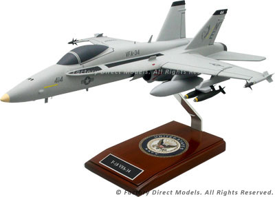 McDonnell Douglas F-18 Hornet VFA-34 Model