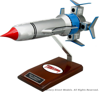 Gerry Anderson Thunderbird 1 Model Spacecraft