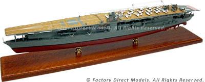 IJN Akagi Model Ship