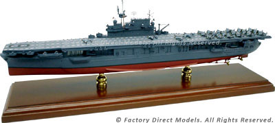 USS Enterprise CV-6 1945 Model Ship