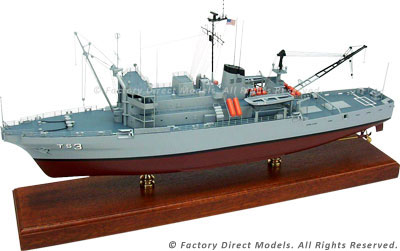 ATS-1 Edenton Rescue & Salvage Ship Model