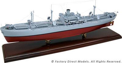Liberty Ship Model Cargo Ship