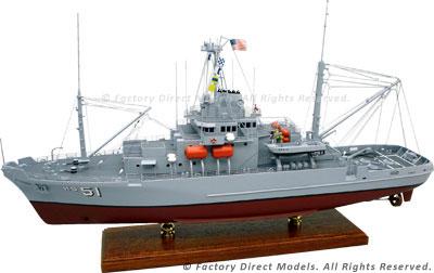 USS Grasp (ARS 51) Model Ship