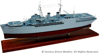 USNS Corpus Christi Bay (T-ARVH-1) Model Ship